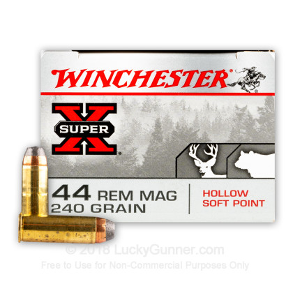 Image 2 of Winchester .44 Magnum Ammo