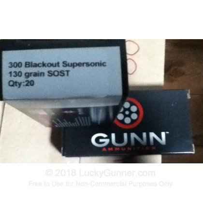 Image 2 of Gunn Ammo .300 Blackout Ammo
