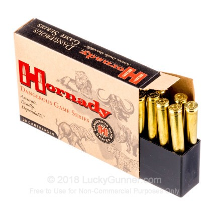 Image 3 of Hornady .375 H&H Magnum Ammo