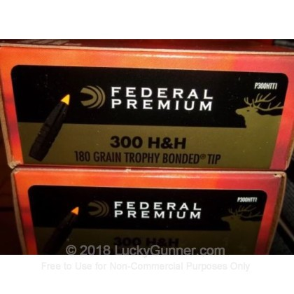 Image 2 of Federal .300 H&H Magnum Ammo