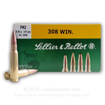 Image 9 of Sellier & Bellot .308 (7.62X51) Ammo