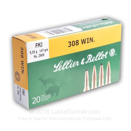 Image 11 of Sellier & Bellot .308 (7.62X51) Ammo
