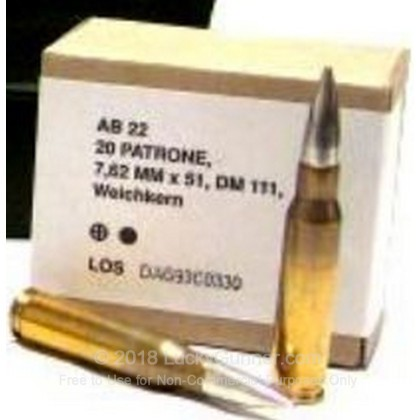 Image 1 of DAG .308 (7.62X51) Ammo
