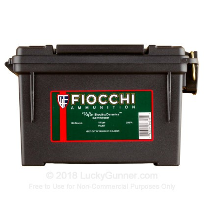 Image 1 of Fiocchi .308 (7.62X51) Ammo