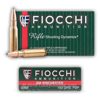 Image 4 of Fiocchi .308 (7.62X51) Ammo
