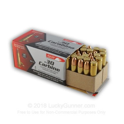Image 3 of Aguila 30 Carbine Ammo