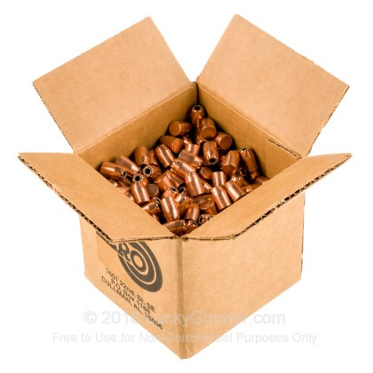 """Large image of Premium 40 S&W (.400"""") Bullets for Sale - 180 Grain JHP Bullets in Stock by Zero Bullets - 500 Projectiles"""