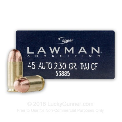 Image 1 of Speer .45 ACP (Auto) Ammo