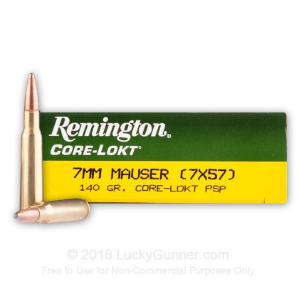 Image 1 of Remington 7x57 Mauser Ammo