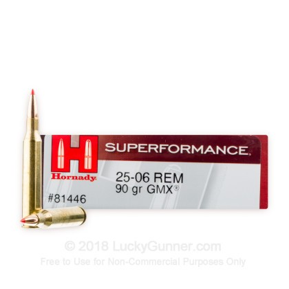 Image 1 of Hornady .25-06 Ammo
