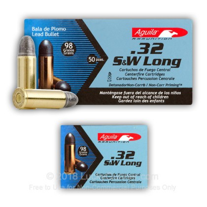 Image 4 of Aguila .32 (Smith & Wesson) Long Ammo
