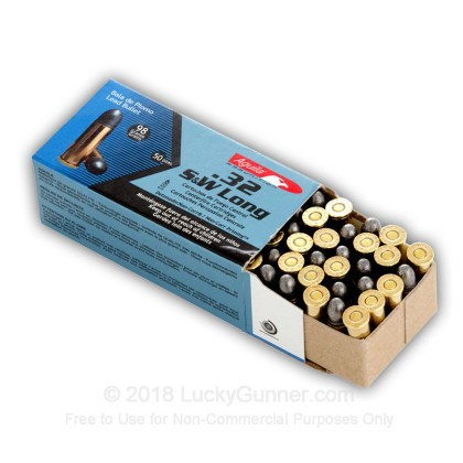 Image 5 of Aguila .32 (Smith & Wesson) Long Ammo