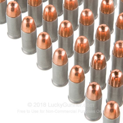 Large image of Cheap 32 Auto Ammo For Sale - 71 gr FMJ Blazer Aluminum Ammo Online - 50 Rounds