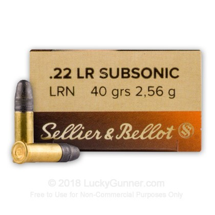 Image 1 of Sellier & Bellot .22 Long Rifle (LR) Ammo