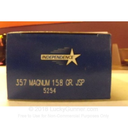Image 2 of Independence .357 Magnum Ammo
