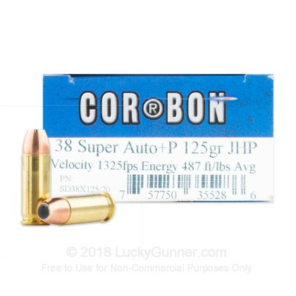Image 1 of Corbon .38 Super Ammo