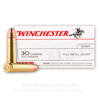 Image 1 of Winchester 30 Carbine Ammo