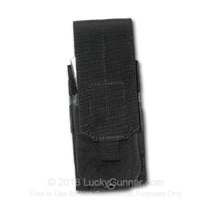 Large image of Double Magazine Pouch STRIKE AR 15 Blackhawk Black For Sale