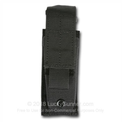 Large image of Single Magazine Pouch MOLLE Loop Pistol Blackhawk Black For Sale