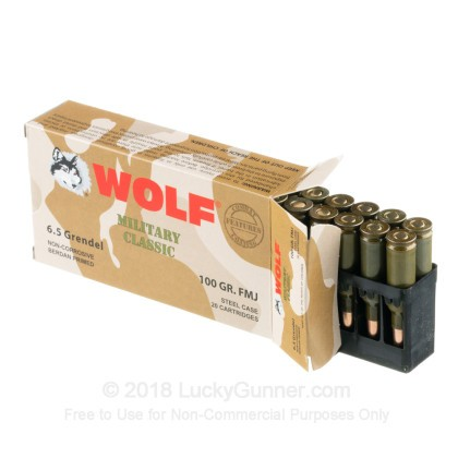 Image 3 of Wolf 6.5 Grendel Ammo