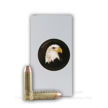 Image 1 of Military Ballistics Industries .38 Special Ammo