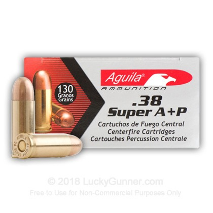 Image 3 of Aguila .38 Super Ammo