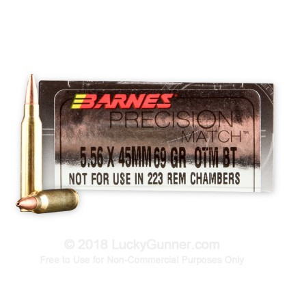 Image 1 of Barnes 5.56x45mm Ammo
