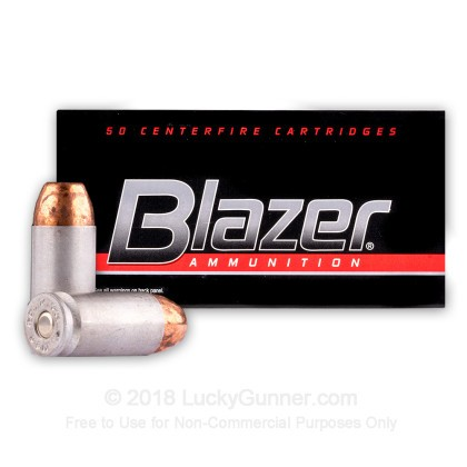 Image 2 of Blazer .40 S&W (Smith & Wesson) Ammo