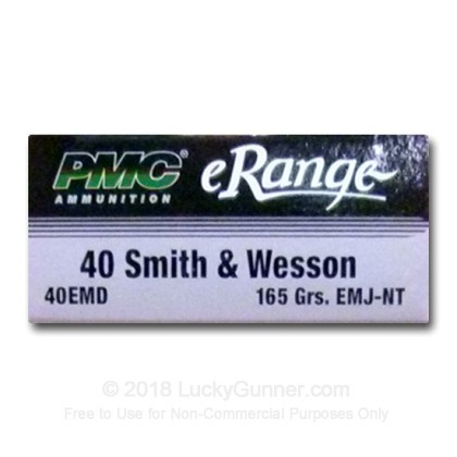 Image 2 of PMC .40 S&W (Smith & Wesson) Ammo
