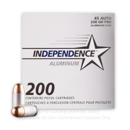 Image 2 of Independence .45 ACP (Auto) Ammo