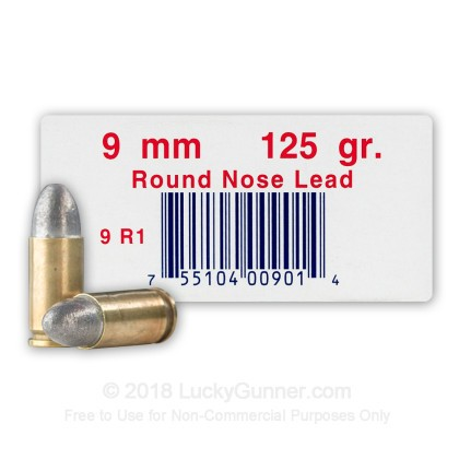 Image 1 of Ultramax 9mm Luger (9x19) Ammo