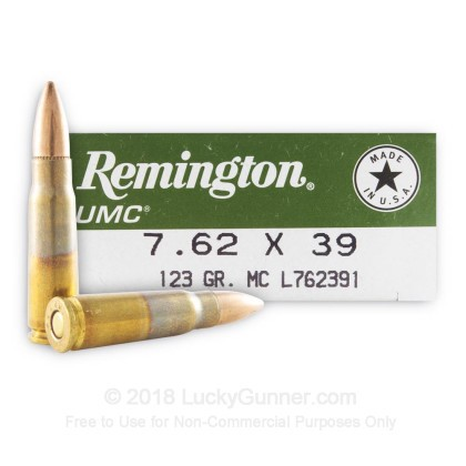 Image 1 of Remington 7.62X39 Ammo