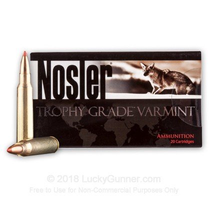 Image 2 of Nosler Ammunition .223 Remington Ammo