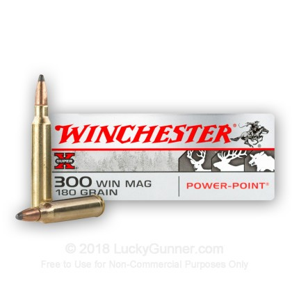 Image 2 of Winchester .300 Winchester Magnum Ammo