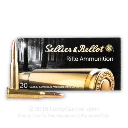 Image 2 of Sellier & Bellot 5.6x52 Rimmed Ammo