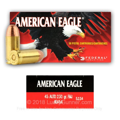 Image 8 of Federal .45 ACP (Auto) Ammo