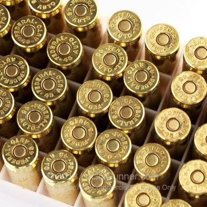 Image 6 of Federal .45 ACP (Auto) Ammo