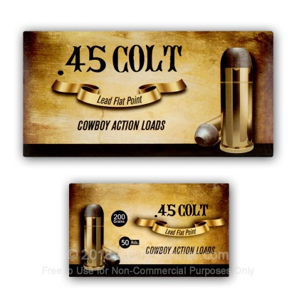 Image 6 of Aguila .45 Long Colt Ammo