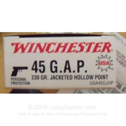 Image 2 of Winchester .45 GAP Ammo