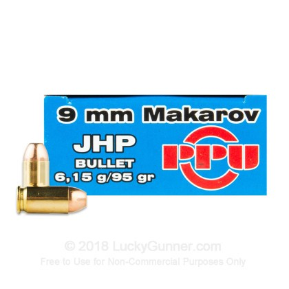 Image 1 of Prvi Partizan 9mm Makarov (9x18mm) Ammo