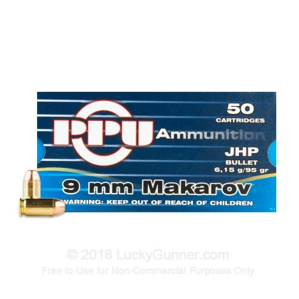 Image 2 of Prvi Partizan 9mm Makarov (9x18mm) Ammo