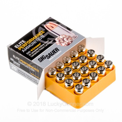 Image 3 of SIG SAUER .40 S&W (Smith & Wesson) Ammo