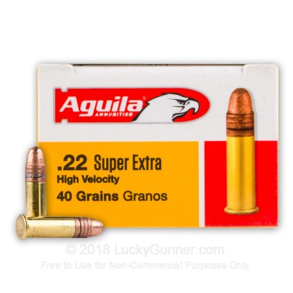 Image 1 of Aguila .22 Long Rifle (LR) Ammo