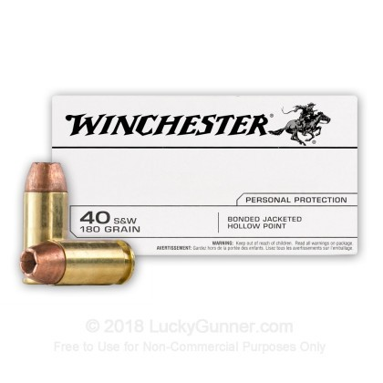 Image 2 of Winchester .40 S&W (Smith & Wesson) Ammo