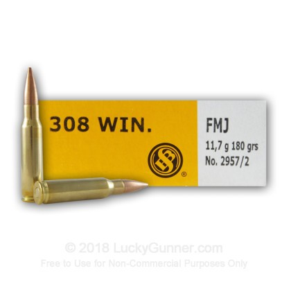 Image 2 of Sellier & Bellot .308 (7.62X51) Ammo