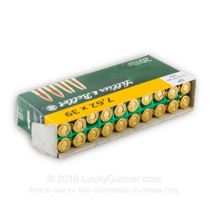 Image 3 of Sellier & Bellot 7.62X39 Ammo