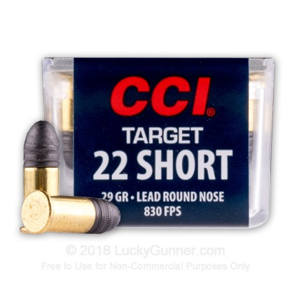 Image 1 of CCI .22 Short Ammo