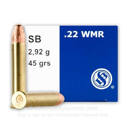 Image 2 of Sellier & Bellot .22 Magnum (WMR) Ammo