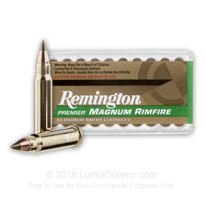Image 2 of Remington .17 HMR Ammo