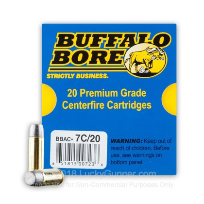 Image 2 of Buffalo Bore 454 Casull Ammo